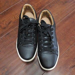Used Zara Basic Black Sneakers
